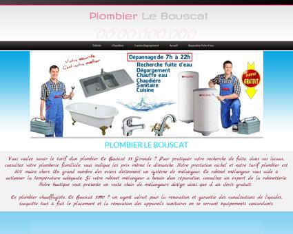 Plombier Le Bouscat - Jerome plombier urgence