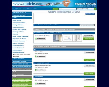 Plomberie - plombier Mareuil-lès-Meaux :...