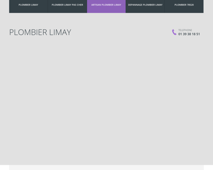 Plombier Limay