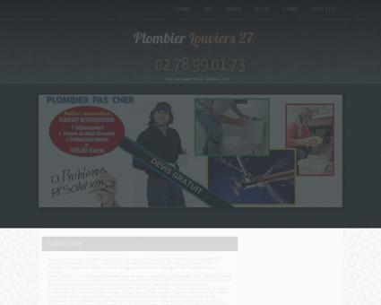 Plombier 27400 Louviers | Compagnon Centre...