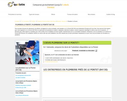 Plombier Le Pontet, Plomberie Le Pontet 84130