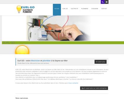 Eurl GO | Electricien, plombier et chauffagiste à...
