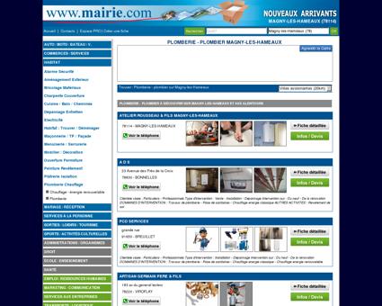 Plomberie - plombier Magny-les-Hameaux :...