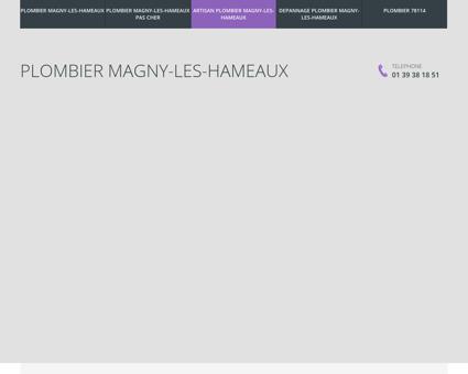 Plombier Magny-les-Hameaux