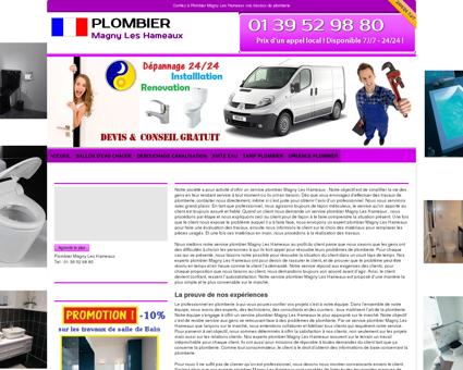 Plombier Magny Les Hameaux : 01 39 52 98...