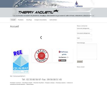 Plomberie Anquetil Mesnil Esnard