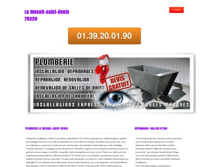Plombier 78320 Le Mesnil-saint-denis |...