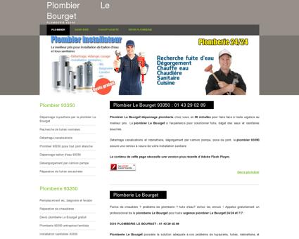 Plombier Le Bourget 93350 : 01 43 29 02 89...
