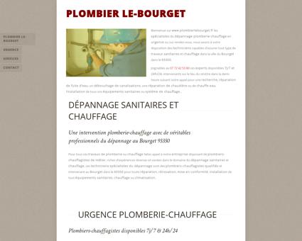Plombier Le-Bourget - 09 72 42 53 80 -...