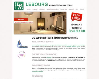 LPC Lebourg Plomberie Chauffage |...