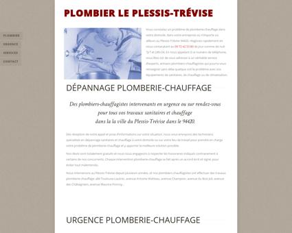 Plombier Le Plessis-Trévise - 09 72 42 53 80 -...