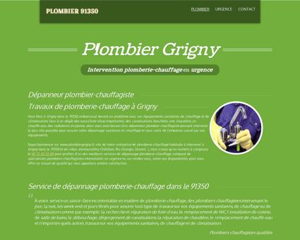 Plombier Grigny 91350 - 09.72.42.53.80 -...