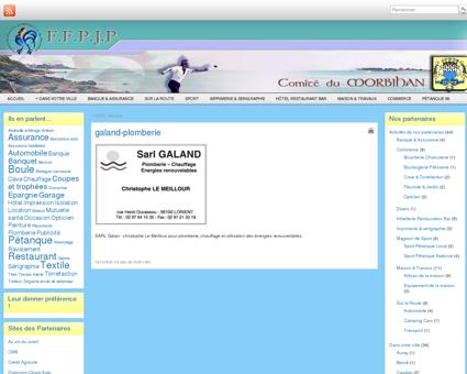 galand-plomberie - Partenaires du Comité du...
