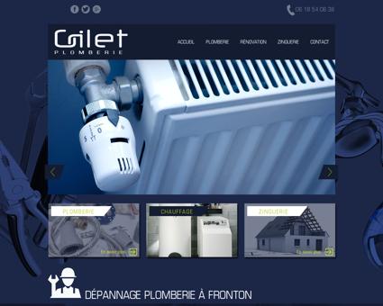 Dépannage plomberie à Fronton | GILET...