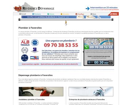 Plombier à Faverolles 02600 : réparation et...