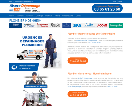 Plombier Hoenheim | PLOMBIER PAS CHER...