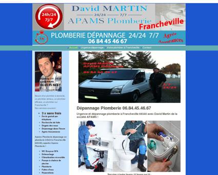 Apams Plomberie dépannage Francheville -...