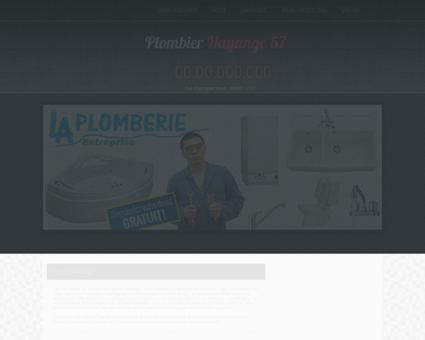 Plombier Hayange - Jean emploi plombier...