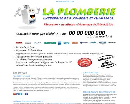 Plombier Hayange TEL:03 74 050 051