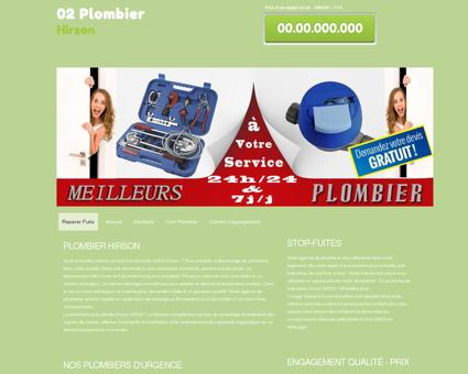 Plombier 02500 Hirson - Erwan Produits de...