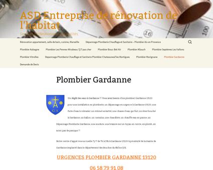 Plombier Gardanne - Plomberie Gardanne -