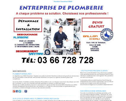 Plombier Gravelines TEL:03 66 728 728