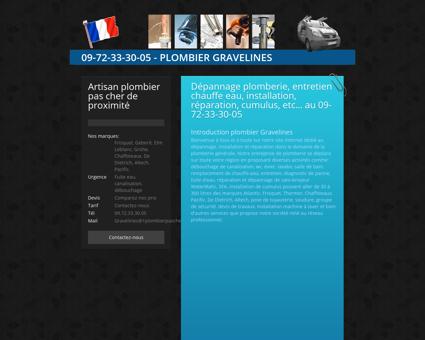 Plombier PAS CHER gravelines: 09 72 33 30...