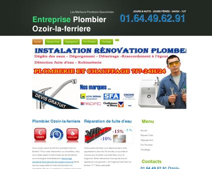 Plombier 77330 Ozoir-la-ferriere | Discount...