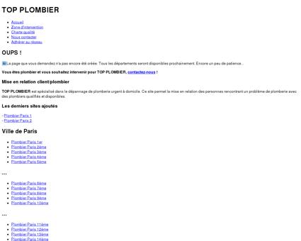 Plombier Labarthe-sur-Lèze (31) - 09 54 87 90 66