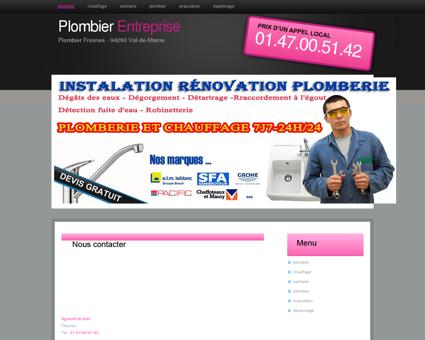Plombier 94260 Fresnes | Numero Mitigeurs...