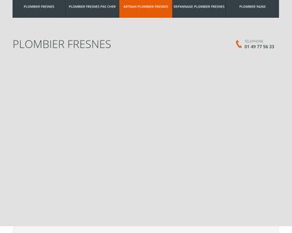 Plombier Fresnes