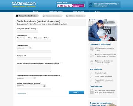 Devis Devis Plomberie | 123Devis.com