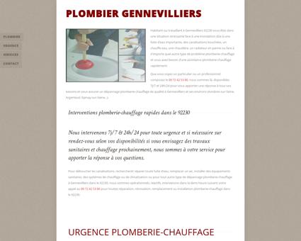 Plombier Gennevilliers- 09 72 42 53 80 -...