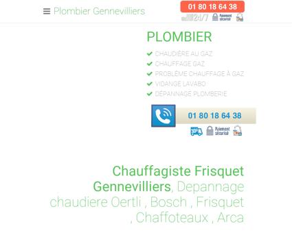 Plombier Gennevilliers - [ 01 80 18 64 38 ]...