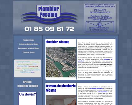 Plombier Fecamp | Relais plomberie Marc