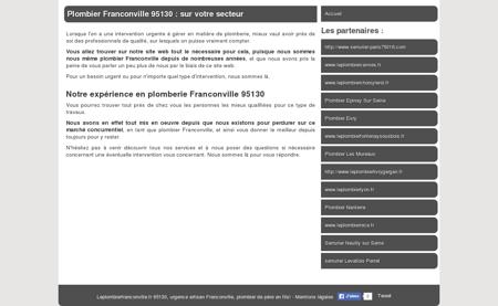 SARL Plombier Franconville 95130 : notre...