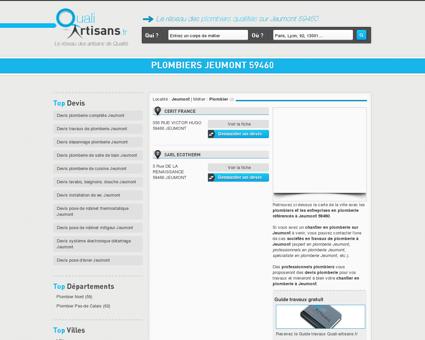 Plombier Jeumont 59460