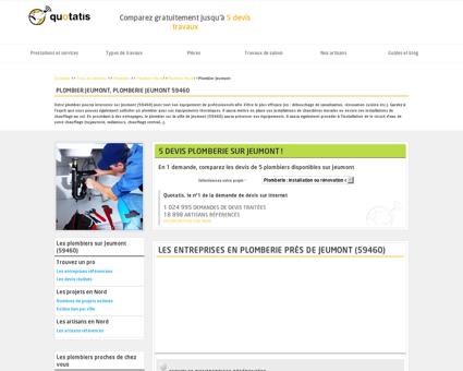 Plombier Jeumont, Plomberie Jeumont 59460