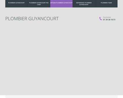 Plombier Guyancourt