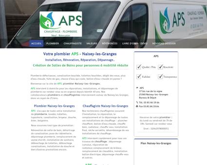 APS - Plombier / Chauffagiste Naisey-les...