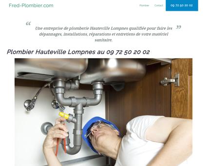 Plombier Hauteville Lompnes - 09 72 50 20 02...