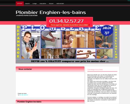Plombier Enghien-les-bains Telephone...