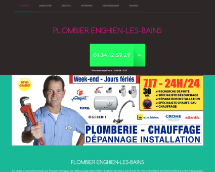 Plombier Enghien-les-bains N°1 Robinetterie...