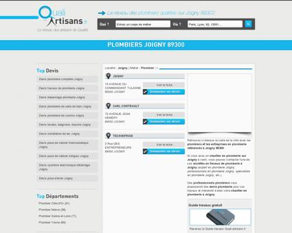 Plombier Joigny 89300