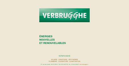 Verbrugghe - énergies nouvelles et...