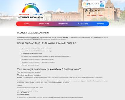 Plomberie à Castelsarrasin | ARBONELLI DIDIER