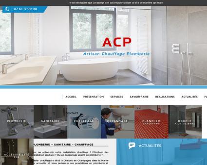 Plomberie - ACP à Châlons en Champagne