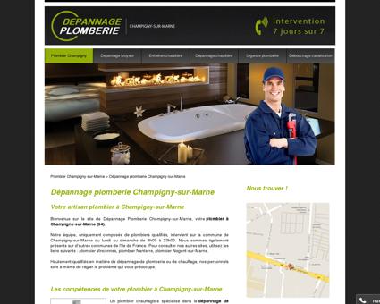 Plombier Champigny-sur-Marne | Dépannage...