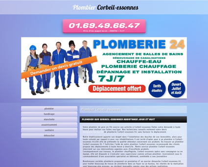 Plombier Corbeil-essonnes   Eric debouchage...