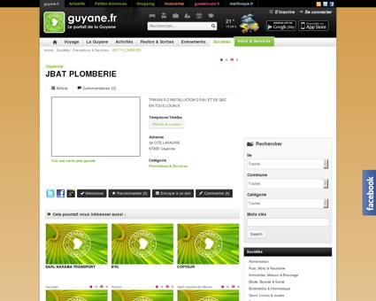 JBAT PLOMBERIE - Cayenne - guyane.fr